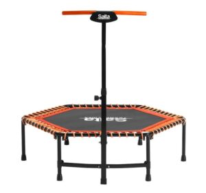 SALTA Trampolin Fitness med håndtag - Orange
