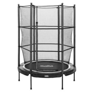 SALTA Trampolin Junior Ø139x189 cm, sort