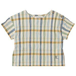 Bobo Choses Checker Bluse Turtledove 6-12 Months