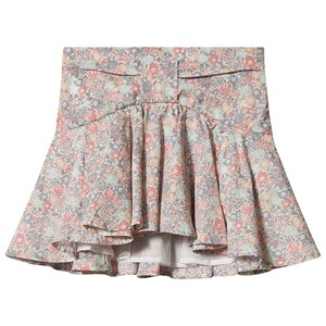 Bonpoint Blomster Liberty Print Bow Detail Skjorte Pink 4 years