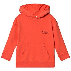 Bonpoint Pull Over Hoodie Coral 4 years