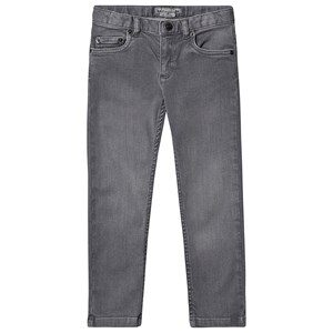 Bonpoint Stretch 5 Pocket Jeans Grey Wash 4 years