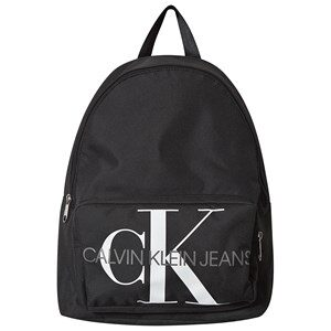 Calvin Klein Jeans Logo Backpack Black One Size