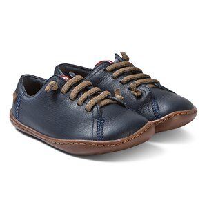 Camper Navy Peu Cami Leather Sneakers 26 (UK 8.5)