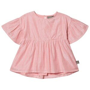 Creamie Silver Stripe Blouse Pink Icing 104 cm (3-4 år)