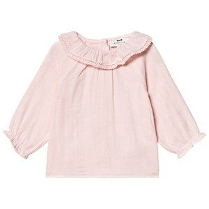 Cyrillus Frill Blouse Pink 9 months
