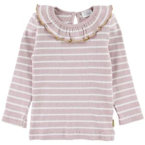 Hust and Claire Bluse - Alma - Rosa/Hvid