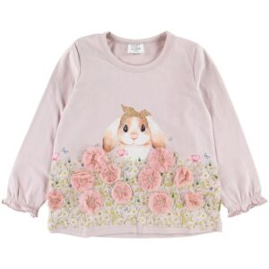Hust and Claire Bluse - Ammy - Rosa m. Kanin