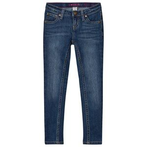 Lands' End Blue Skinny Jeans S (4 years)