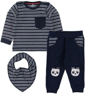 Me Too Set - Bluse/Bukser/Savlesmæk - Dress Blues