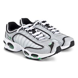 NIKE Air Max Tailwind IV Sneakers Wolf Grey and Green Spark 38 (UK 5)