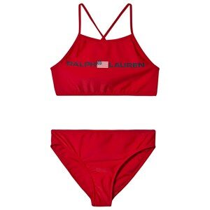 Ralph Lauren Polo Bikini Red 8 years