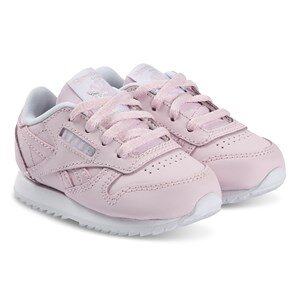 Reebok Pink Classic Leather Infants Trainers 19.5 (UK 3.5)