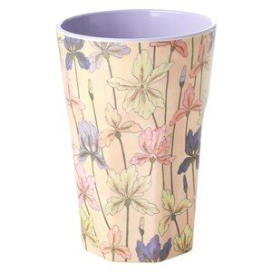 Rice Tall Melamin Kop Iris Print One Size