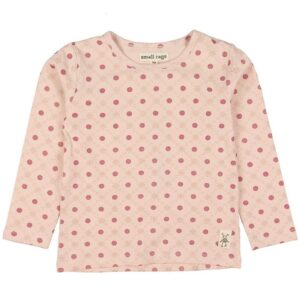 Small Rags Bluse - Lys Rosa m. Mønster/Glitter