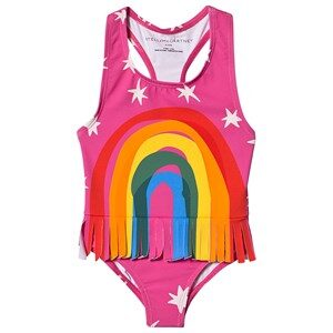 Stella McCartney Kids Rainbow Badedragt Pink 2 years