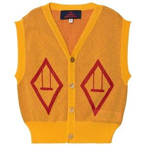The Animals Observatory Bat Vest Yellow 2 Years