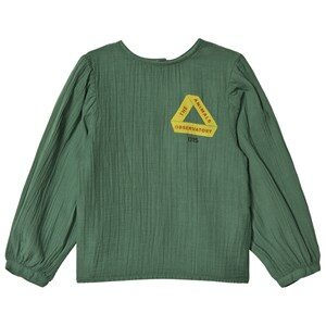 The Animals Observatory Opossum Shirt Green Triangle 3 år