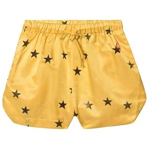 The Animals Observatory Silky Duck Bermuda Shorts Yellow Stars 2 Years