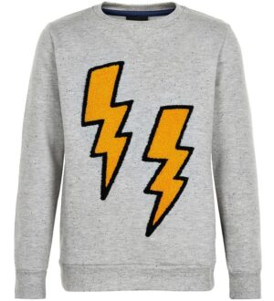 The New Sweatshirt - Oreo - Gråmeleret