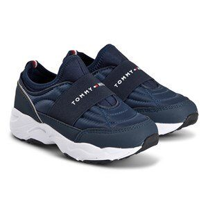 Tommy Hilfiger Pull Sneakers Navy med Logo 34 (UK 2)