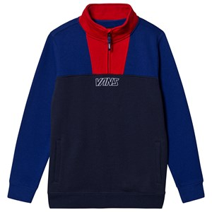 Vans Colorblock Logo Sweatshirt Kjole Blå S (8-10 years)