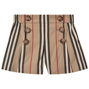 Burberry Icon Stripe Baby Shorts Archive Beige 6 months