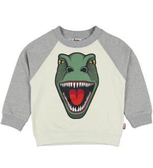 DYR Sweatshirt - Bellow Sweat - Putty/Hthr Grey T-Rex