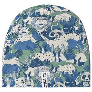 Geggamoja Jungle Fleece Beanie Grøn XS (1-2 år)