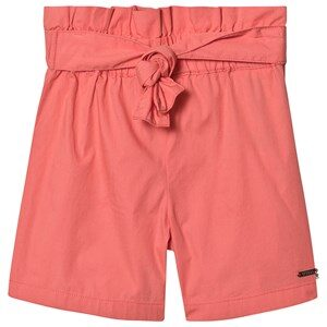 Guess Tie Waist Shorts Coral 3 years