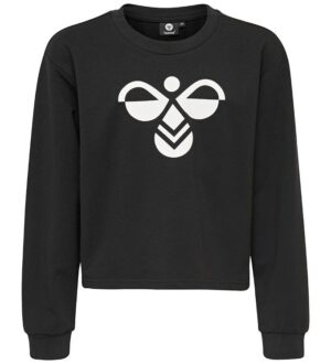 Hummel Sweatshirt - Cinco - Sort m. Logo