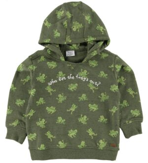 Hust and Claire Sweatshirt - Storm - Olivine
