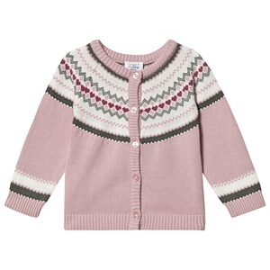 Hust&Claire Charme Cardigan Violet Ice 68 cm (4-6 Months)