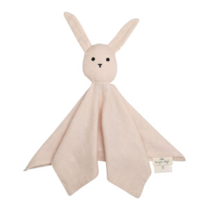 Konges Sløjd nusseklud, Sleepy Rabbit - dusty pink