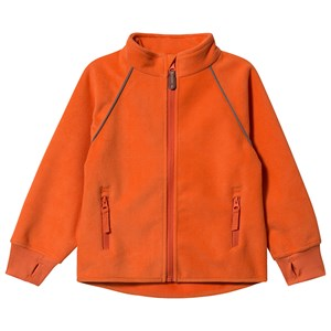 Kuling Livigno Vind Fleece Jakke Bright Orange 92 cm