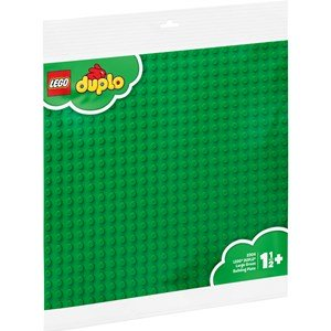 LEGO DUPLO 2304, Large green buildning plate 0 - 5 years