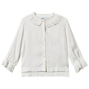 Mayoral Ruffle Blouse White 5 years