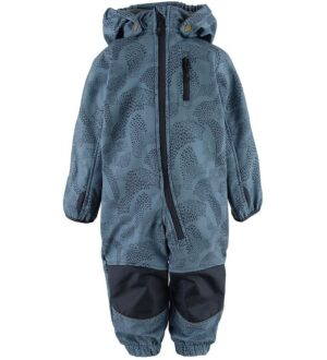 Mikk-Line Softshelldragt m. Fleece - Blue Heaven