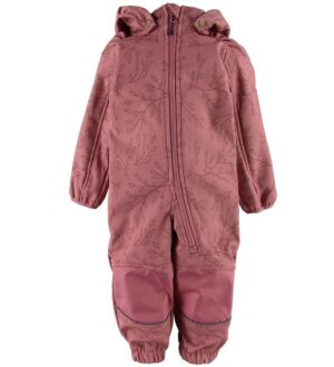 Mikk-Line Softshelldragt m. Fleece - Heather Rose