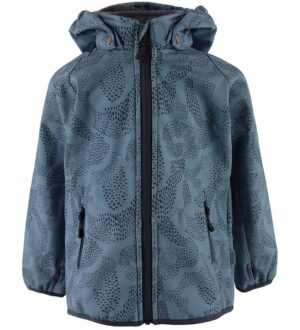 Mikk-Line Softshelljakke m. Fleece - Blue Heaven