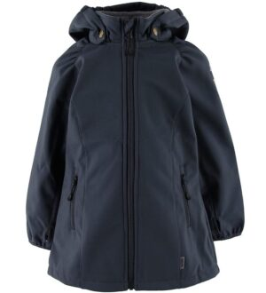 Mikk-Line Softshelljakke m. Fleece - Blue Nights