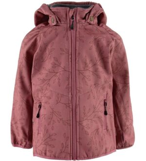 Mikk-Line Softshelljakke m. Fleece - Heather Rose