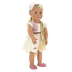 "Our Generation Phoebe™ ""From Hair To There"" Doll 46 cm 3 - 14 years"