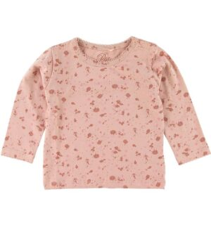 Petit by Sofie Schnoor Bluse - Elenor - Lys Rosa m. Maling