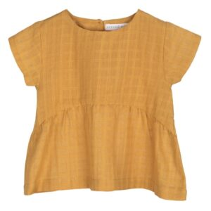 Serendipity Golden Checks Blouse