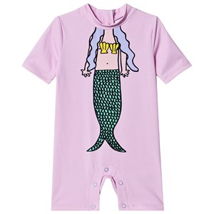 Stella McCartney Kids Mermaid Trompe L'Oeil Badedragt Lilla 18 months