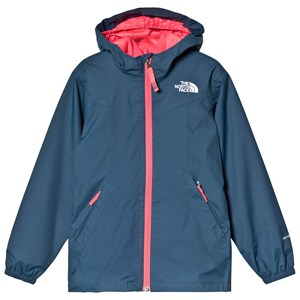 The North Face Navy Fleece Lined Waterproof Eliana Rain Triclimate Jacket M (10-12 years)