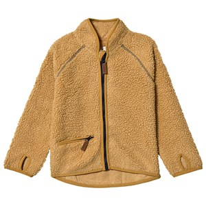 ebbe Kids Dale Terry Fleece Jacket Amber Gold 128 cm (7-8 år)