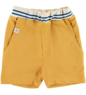 AlbaBaby Shorts - Mike - Bright Gold m. Knapper