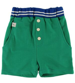 AlbaBaby Shorts - Mike - Pepper Green m. Knapper
